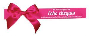 vitrophanie echo cheques