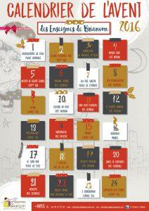 calendrier avant enseignes briancon 2016