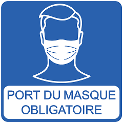 Port du Masque ObligatoirePort du Masque Obligatoire