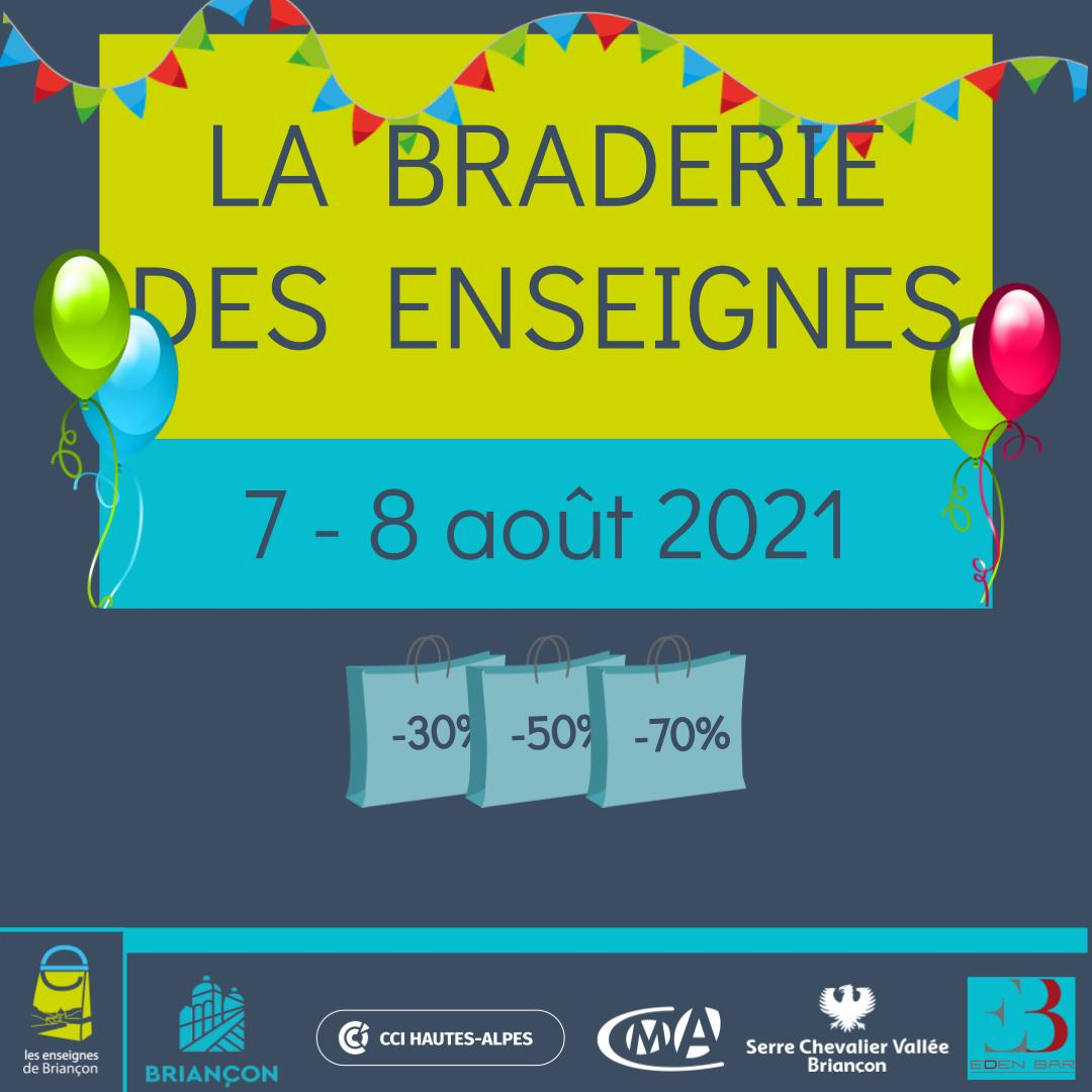 Publication Insta Braderie des Enseignes 2021